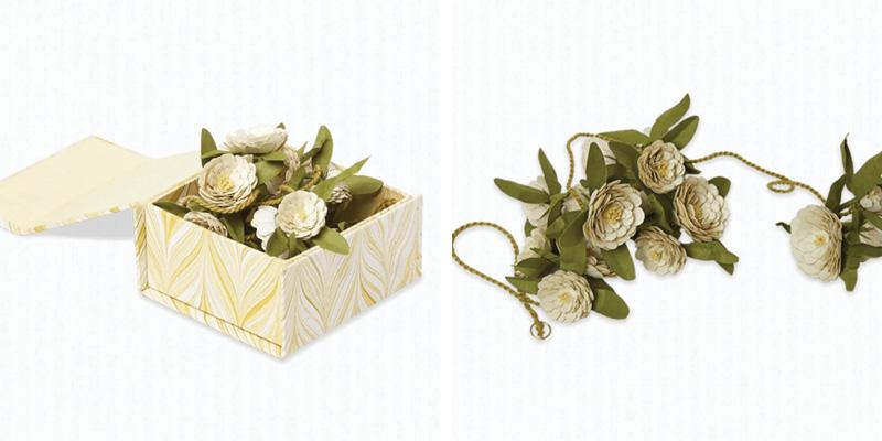Craft Boat Paper Flower Garland