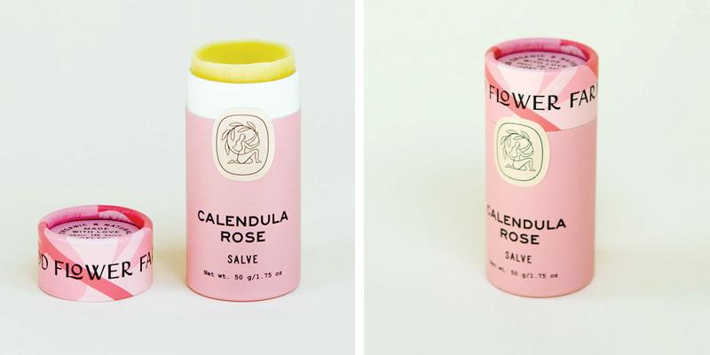 Good Flower Farm Calendula Rose Salve